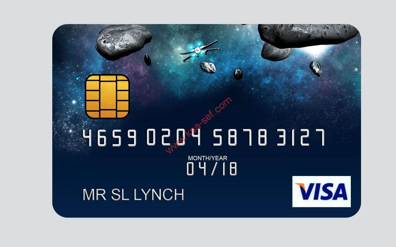 شرح مبسط للمعلومات الموجودة على البطاقة