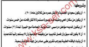 للسعوديين فقط ... مطلوب عمدة لحى العزيزية بمحافظة النعيرية